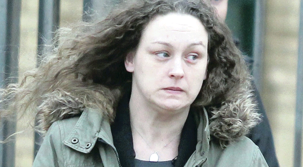 Natasha Irish outside Antrim Court