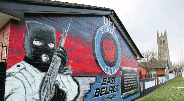 A mural on the Lower Newtownards Road