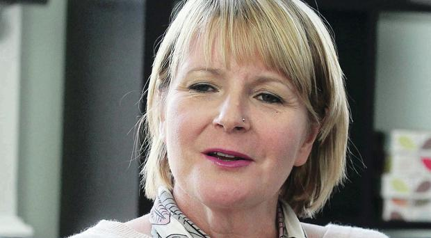 Victims Commissioner Kathryn Stone pictured at her office in Belfast City Centre