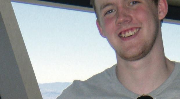 Andrew Fitzsimmons died at the age of 23 in 2013
