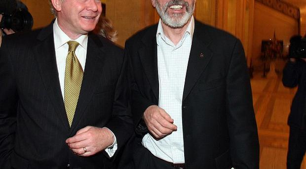 An MP has questioned if Martin McGuinness and Gerry Adams have received letters assuring them they do not face prosecution or police questioning