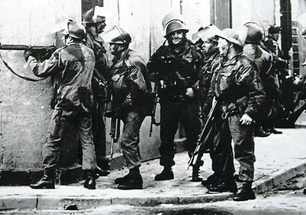 Paratroopers shot 14 people dead on Bloody Sunday in 1972