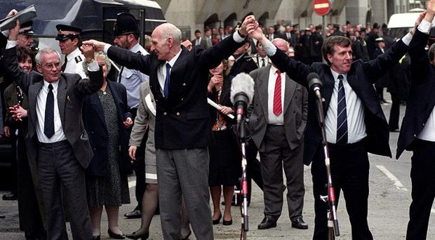 The Birmingham Six had their convictions for the 1974 bombings quashed.
