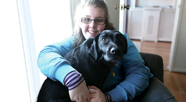 Kirstie Greer with her dog PepsiKirstie Greer with her dog Pepsi