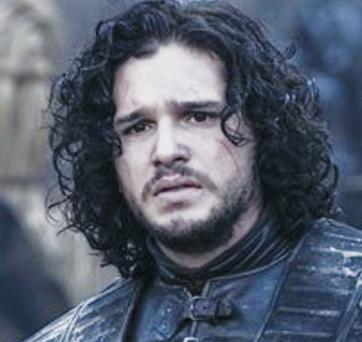 Favourite Game of Thrones character, Jon Snow of the Night's Watch