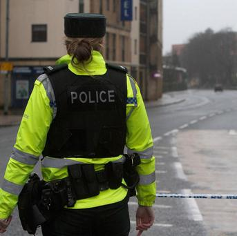 Police say that two pipe bomb attacks in Londonderry are being treated as connected and hate crimes