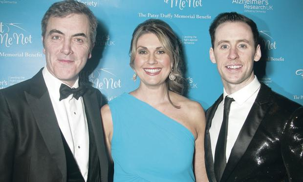 James Nesbitt, Sarah Travers and Connor Phillips were among the stars who took part