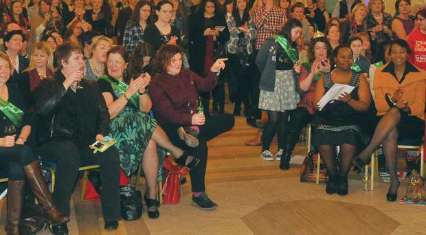 The audience at the Stormont event