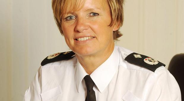 Judith Gillespie says she is leaving the PSNI on her own terms (PSNI/PA Wire)