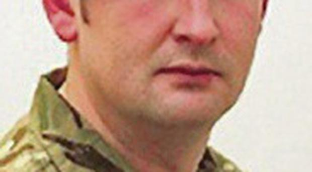 Corporal Geoffrey McNeill who died at Tern Hill Barracks in Shropshire