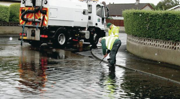 Newcastle, Co Down, was badly affected by flooding last July