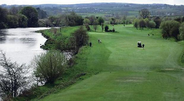 Police were called to Strabane golf course
