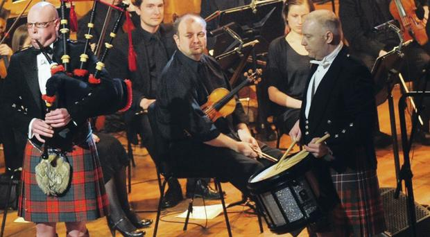The Burns Night Spectacular featuring the Ulster Orchestra which was attended by Culture Minister Caral Ni Chuilin