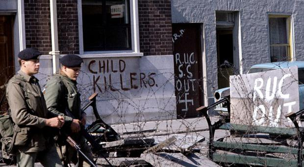 Thousands died in the violence of the Troubles