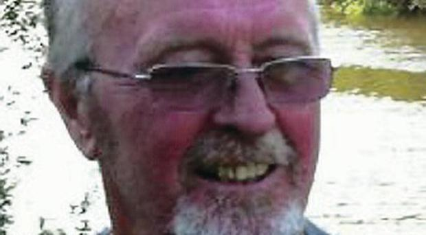 Rescued: John Trimble had been in a critical condition in hospital