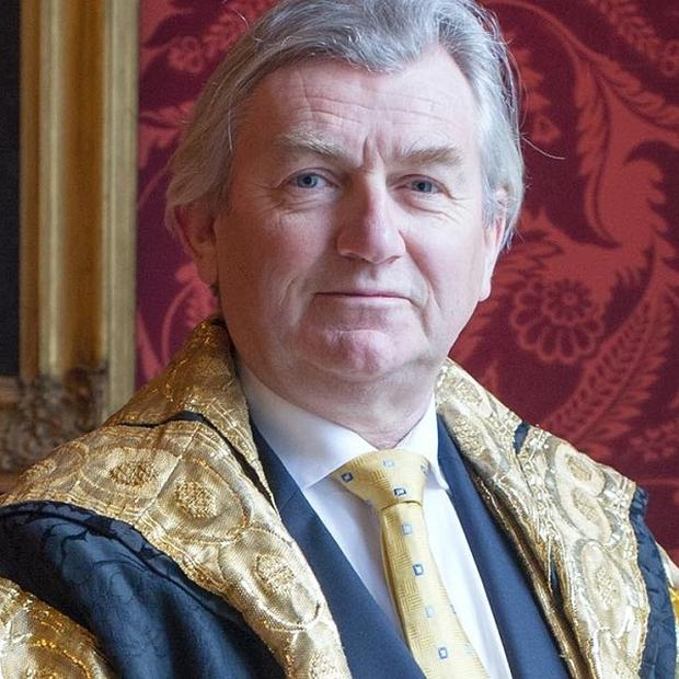 Judge Sir Donnell Deeny, originally from Lurgan, Co Armagh, who has been appointed to a senior position at Trinity College Dublin (Trinity College Dublin/PA)