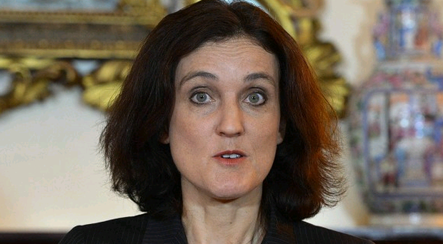Secretary of State Theresa Villiers has laid down a new challenge for Peter Robinson and Martin McGuinness