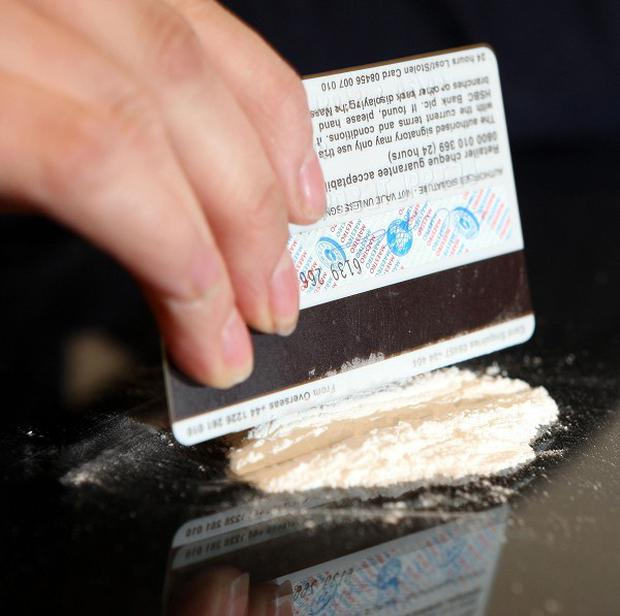 Irish people are using cocaine less since the economic boom years, a poll says