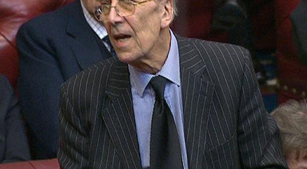 Lord Tebbit was injured in the IRA Brighton bombing in 1984