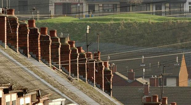 A political row has broken out over housing provision in Northern Ireland.
