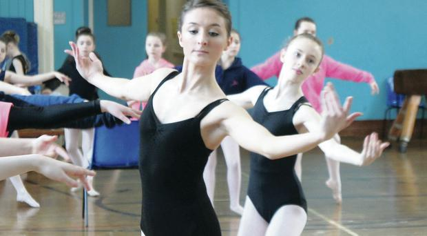 Amy Uprichard wants to be a professional ballet dancer after fighting her way back from a rare form of cancer
