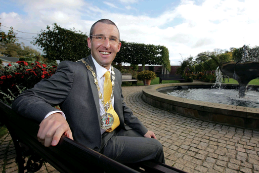 Trail-blazer: Andrew Muir is mayor in North Down