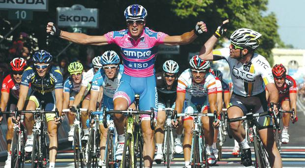 The Giro d'Italia is considered part of the so-called triple crown of cycling, along with the Tour de France and the Vuelta a España