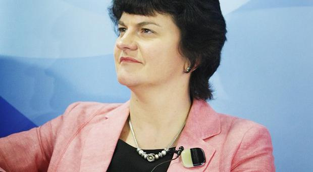 Arlene Foster said the new positions would contribute almost 2 million pounds a year to the economy