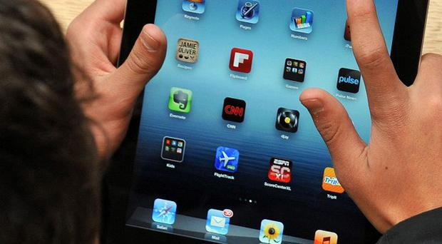 Some children are said to be more comfortable with digital devices than traditional toys