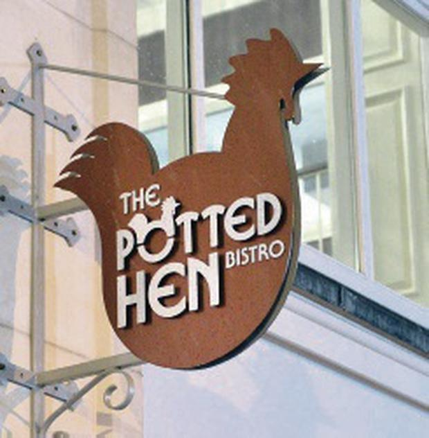The Potted Hen