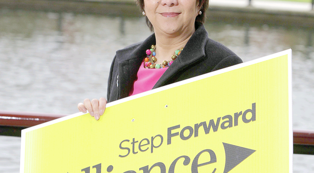 Alliance Euro-candidate Anna Lo: flabbergasted