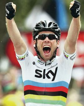Mark Cavendish captured his first Tour de France stage win in two years