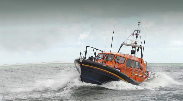 The ultra-modern Shannon class boat that will equip the Newcastle RNLI station in 2018