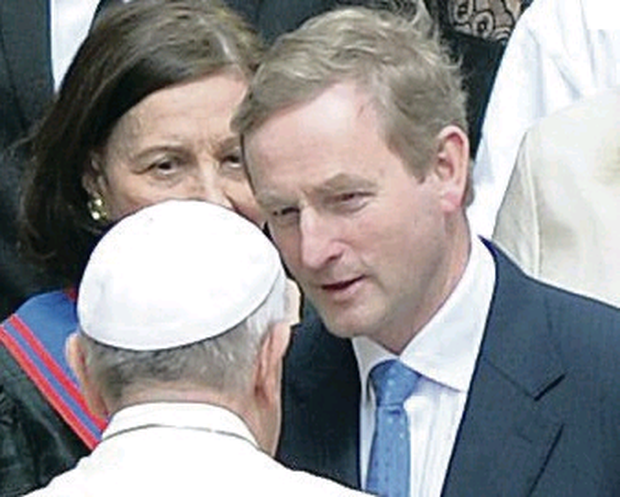 Meeting: Enda Kenny and Pope