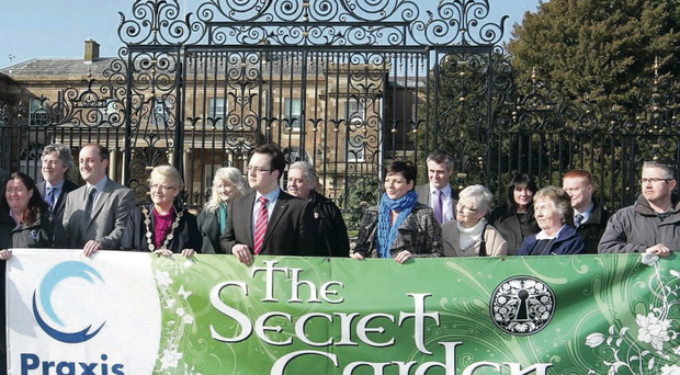Mental health charity Praxis hold protest over being evicted from Hillsborough Castle