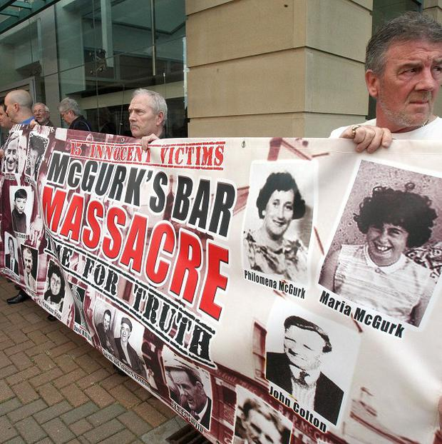 Family members and supporters have campaigned for the truth to come out over the McGurks pub bombing