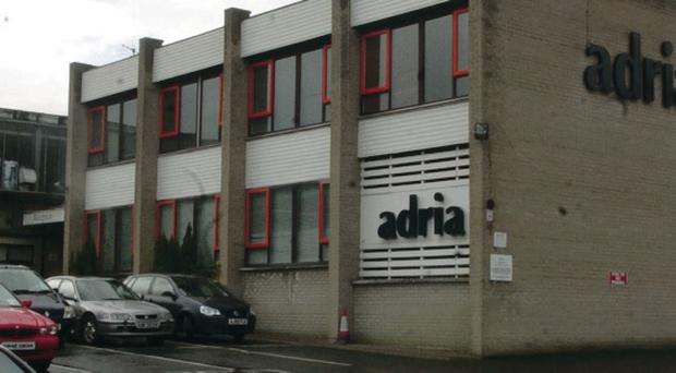 The former Adria factory in Strabane is to close down