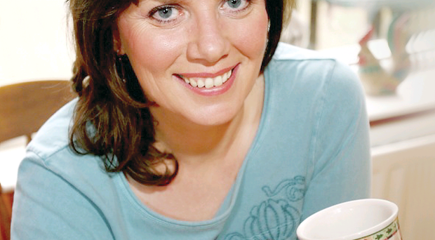 Actress Nuala McKeever has found love with another woman one year after the death of partner Mike