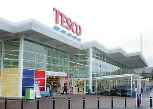 Popular supermarket chain Tesco