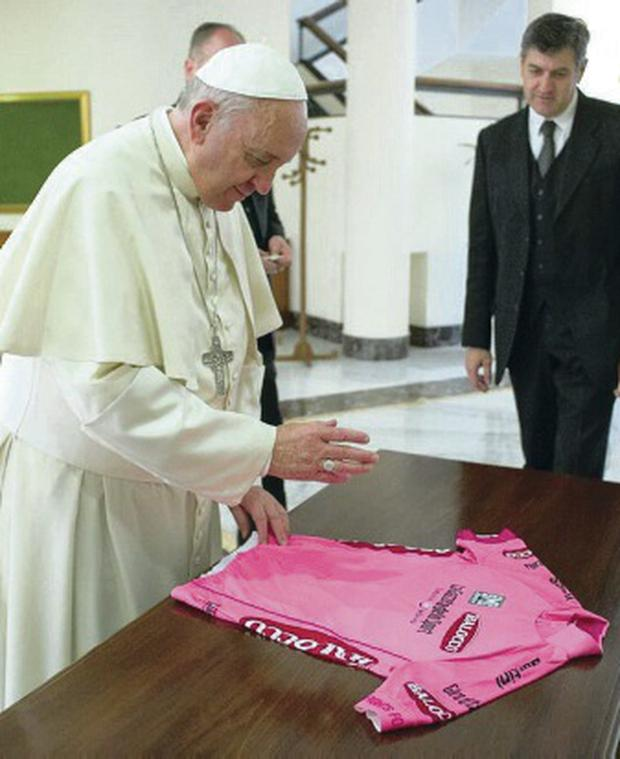 Blessing: Pope Francis