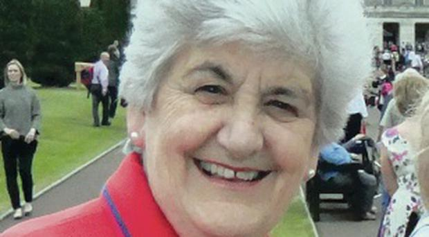 Margaret Crawford, chair of the Ulster Trefoil Guild