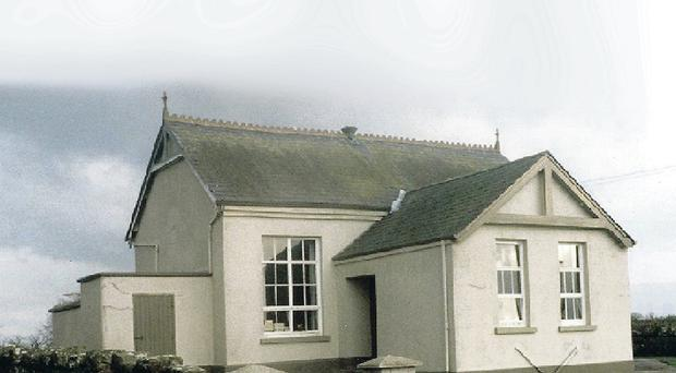 Under threat: a consultation on the future of Clintyclay Primary School on the Armagh/Tyrone border will finish tomorrow