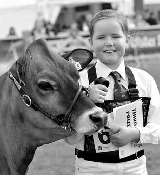 Ailsa Fleming took part in the Junior Novice showmanship U13 handling class