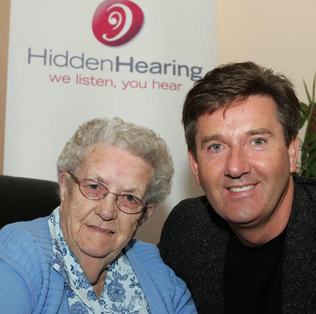 Daniel O'Donnell with his mother Julia, who has died aged 94