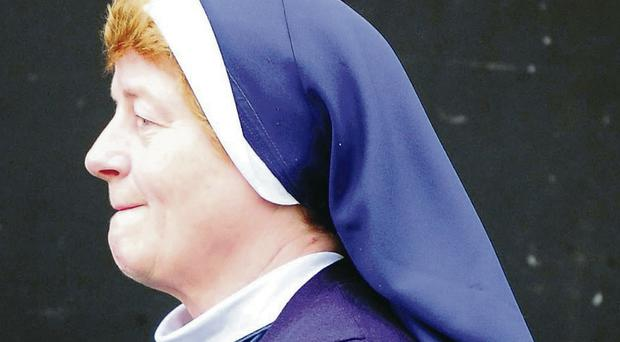 Sister Brenda, a member of the Sisters of Nazareth Congregational Group