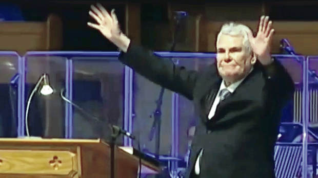Pastor James McConnell defended his sermon in which he derided the Muslim religion as a satanic faith
