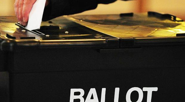 Polling stations opened this morning for the European and local government elections