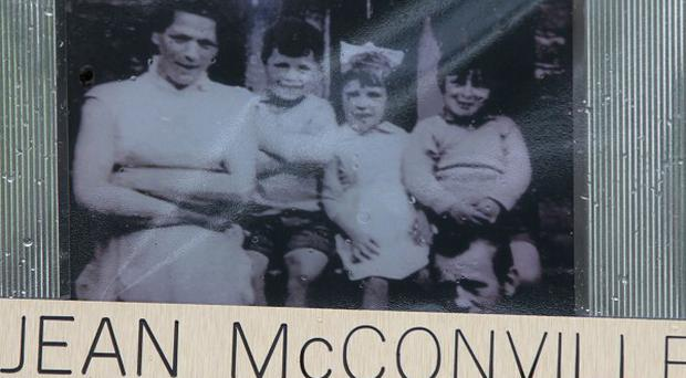 Jean McConville (left) was murdered by the IRA.