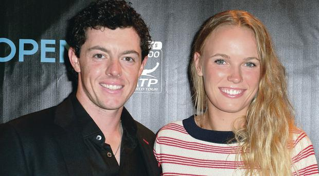 Rory and Caroline in happier times