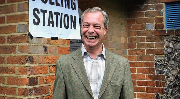 Nigel Farage's Ukip has made gains around the country